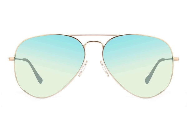 Mirrored Blue Sunglasses  Unisex - OC.MT.2147-9121