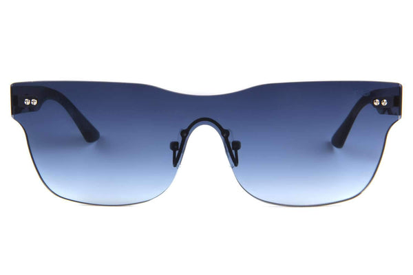 Play Flat Mask Blue Sunglasses by Chilli Beans