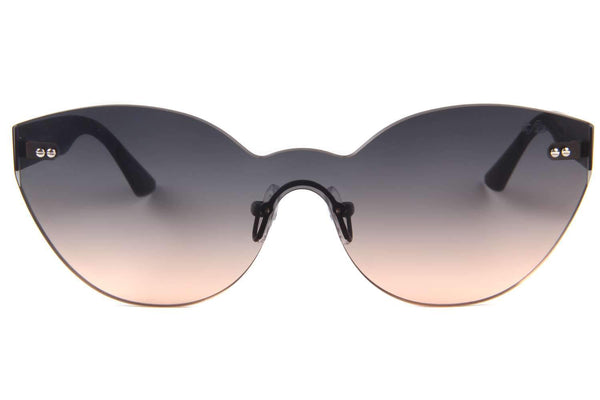 Play Flat Cat Eye Black Sunglasses by Chilli Beans