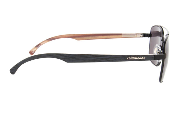Executive Sunglasses Black Polycarbonate