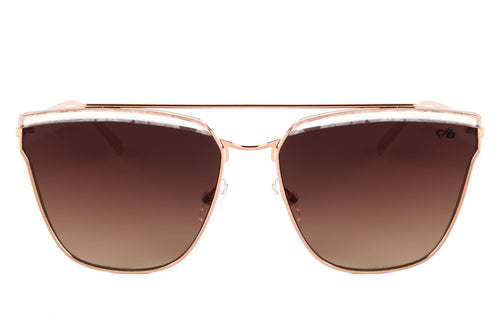 Square Sunglasses Women Brown Polycarbonate Lenses - OC.MT.2363-0295