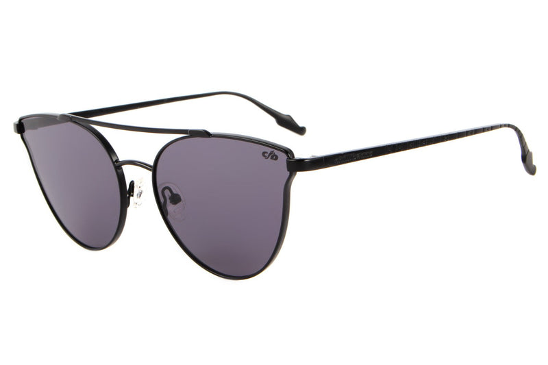 Rock in Rio Cat Eye Sunglasses Grey Polycarbonate