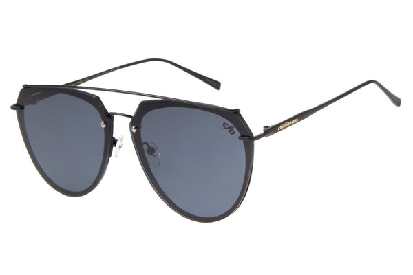Aviator Sunglasses Gray Nickel