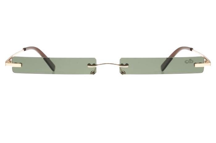 Seasonal Sunglasses Brown Stainless Steel