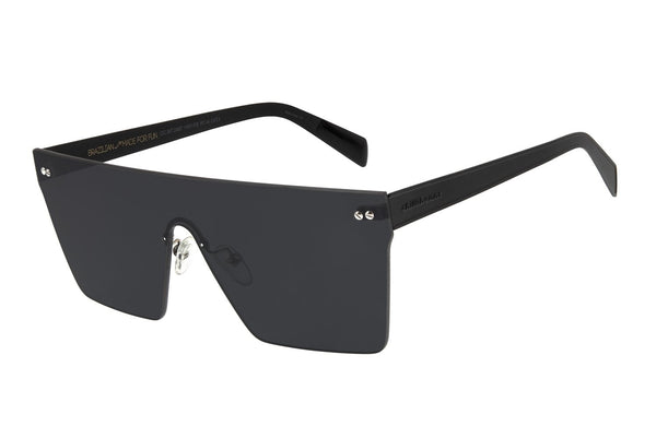 Double Lenses Square Black Sunglasses by Chilli Beans