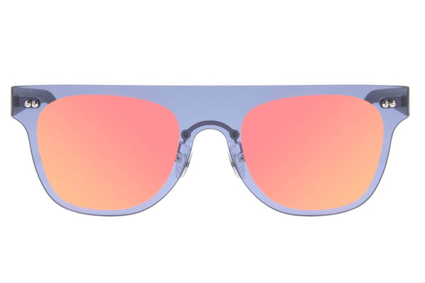 Square Sunglasses Men Orange Polycarbonate Lenses - OC.MT.2496-1101
