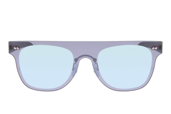 Square Sunglasses Men Mirrored Blue Polycarbonate Lenses - OC.MT.2496-9101