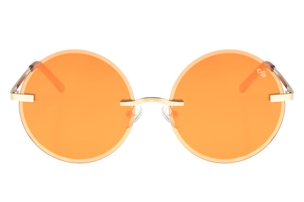Round Sunglasses Women Orange - OC.MT.2498-1121