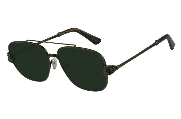 Executive Sunglasses Green Polycarbonate