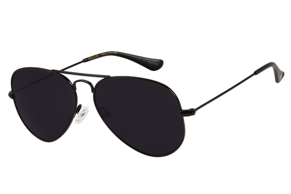 Aviator Sunglasses Matte Stainless Steel