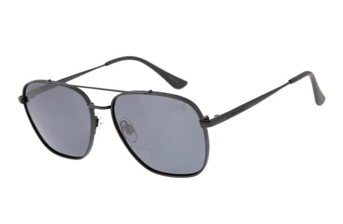 Executive Sunglasses Black Stainless Steel