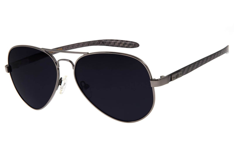 Aviator Sunglasses Smoke Stainless Steel