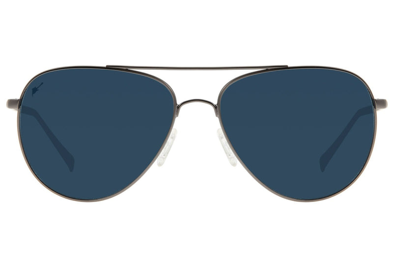 Rock In Rio 2019 Aviator Sunglasses Blue Stainless Steel
