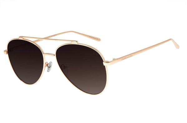 Aviator Sunglasses Golden Nickel