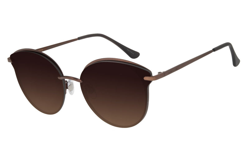 Round Sunglasses Love Stainless Steel