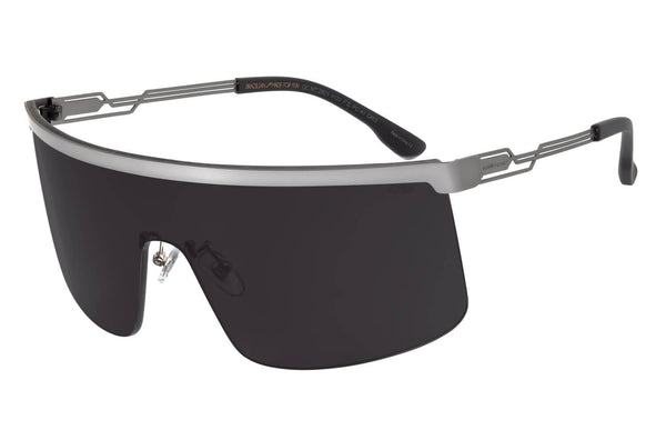 Alok Mask Sunglasses Onix Stainless Steel