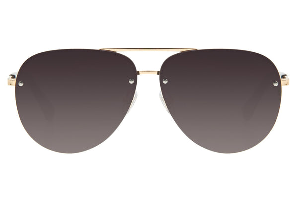 Aviator Sunglasses Gradient Stainless Steel