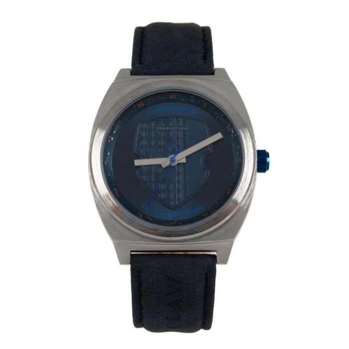 Harry Potter Round Watch Blue Brass