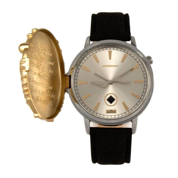 Harry Potter Round Watch Silver Brass
