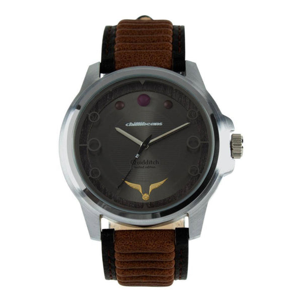 Harry Potter Round Watch Gray Brass