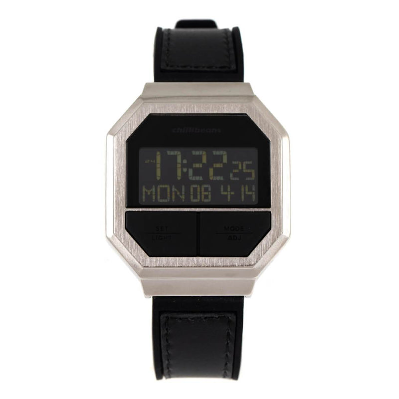 Square Watch Black Brass