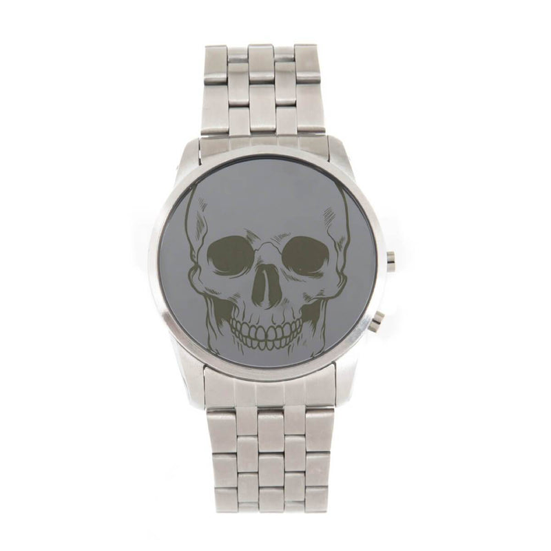 Round Watch Silver Brass