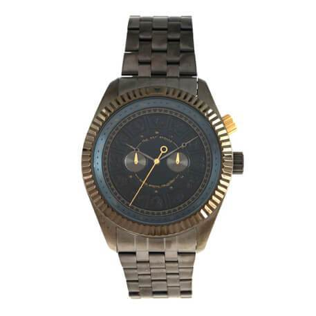 Signs Round Watch Onix Brass