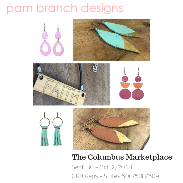 New Sales Reps!  See Pam Branch Designs at The Columbus Marketplace