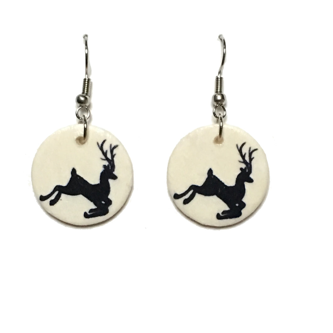 Reindeer - Christmas Earrings E686