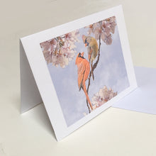 Cardinal Greeting Cards, 4 Pack, Cardinal Gift, Birdwatcher Gift, Thinking of You, Miss You, Bereavement Gift, Sympathy Card #C1