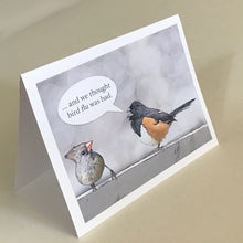 Cardinal and Towhee Greeting Cards, 4 Pack, Cardinal Gift, Birdwatcher Gift, Thinking of You, Miss You, Funny Gift, Funny Card #C6