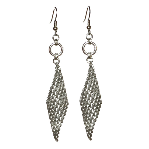 Mesh Dangle Earring #E507