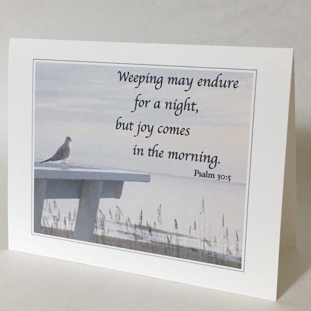 Mourning Dove, Bereavement Card, Sympathy Card, Empathy Card #C36