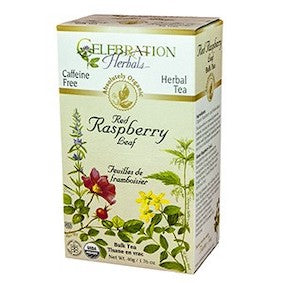 Celebration Herbals Red Raspberry tea bags