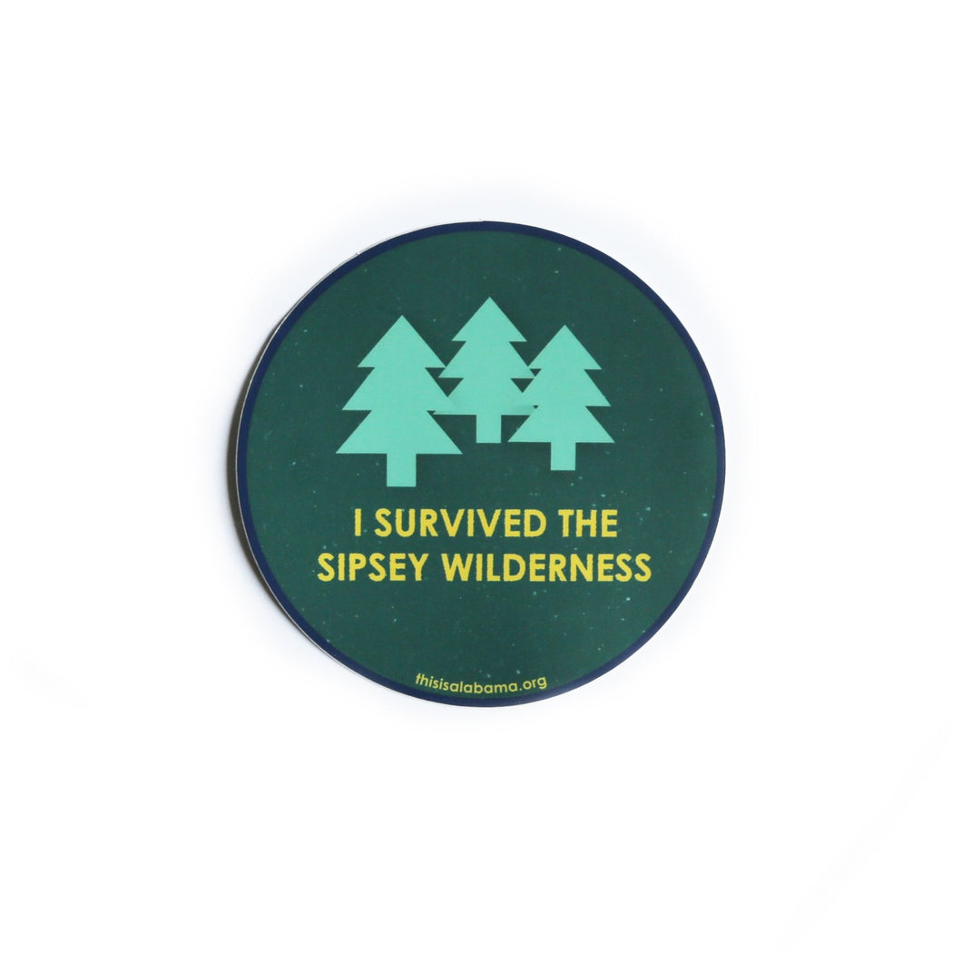 Sipsey Travel Sticker