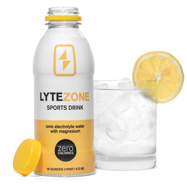 LyteZone Sports Drink - Ionic Electrolyte Water with Magnesium (6-Pack)