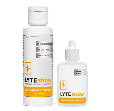 LyteShow 4 oz. Bottle - Electrolyte Concentrate For Rapid Rehydration