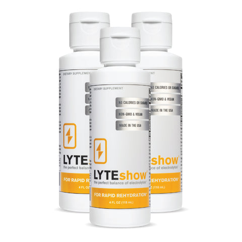3-Pack of LyteShow 4 oz. Bottles