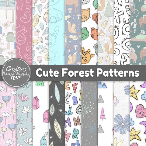 Cute Forest Patterns