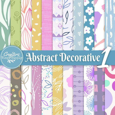Abstract Deco Patterns 1