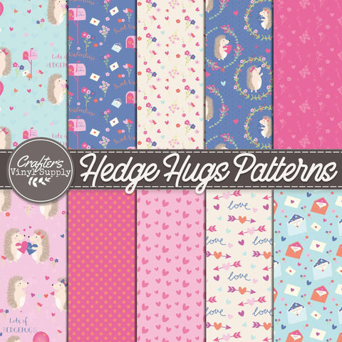 Hedge Hugs Patterns