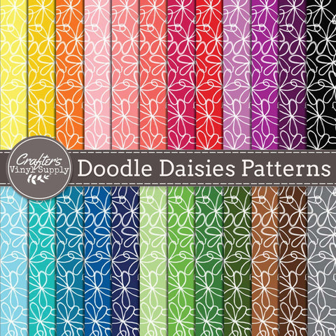 Doodle Daisies Patterns