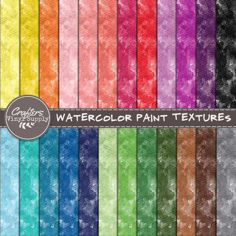 Watercolor Paint Textures
