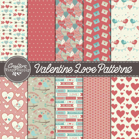 Valentine Love Patterns
