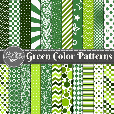 Green Color Patterns