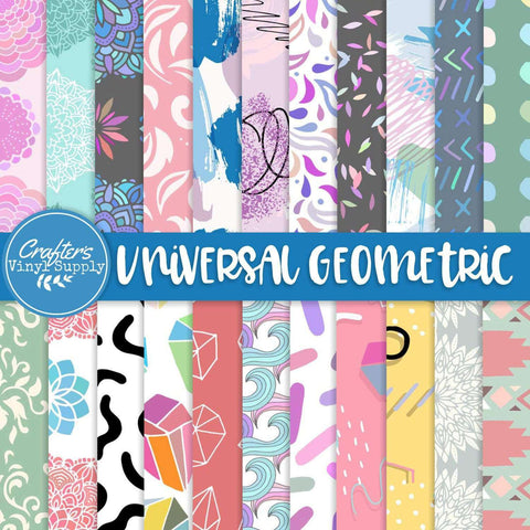 Universal Geometric Patterns