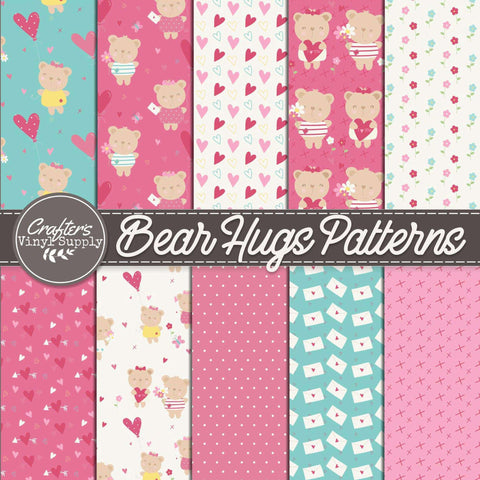 Bear Hugs Patterns