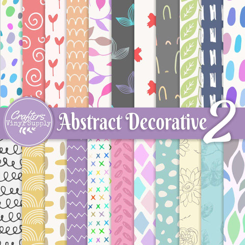 Abstract Deco Patterns 2