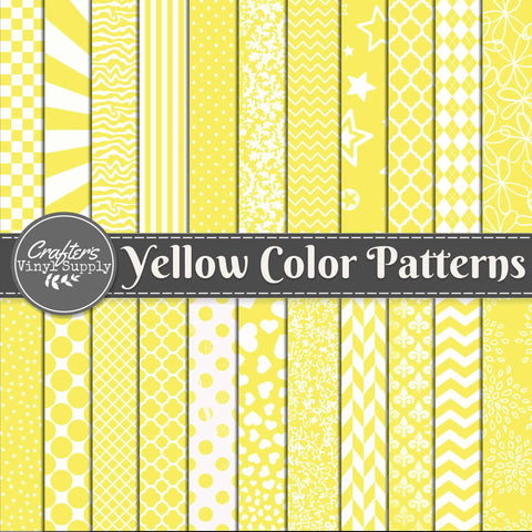 Yellow Color Patterns