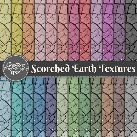 Scorched Earth Textures